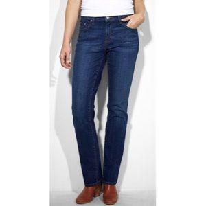 Levi's 505™ Darkwash Straight-Leg Jeans EUC